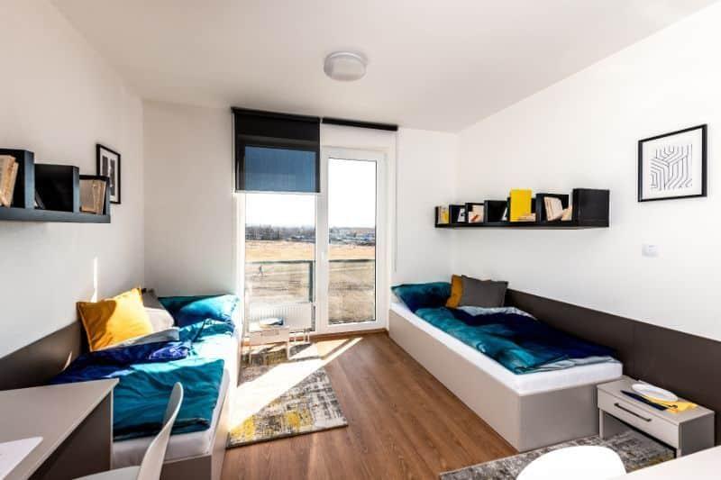pilsen (plzen) erasmus student accommodation student room flat (4)