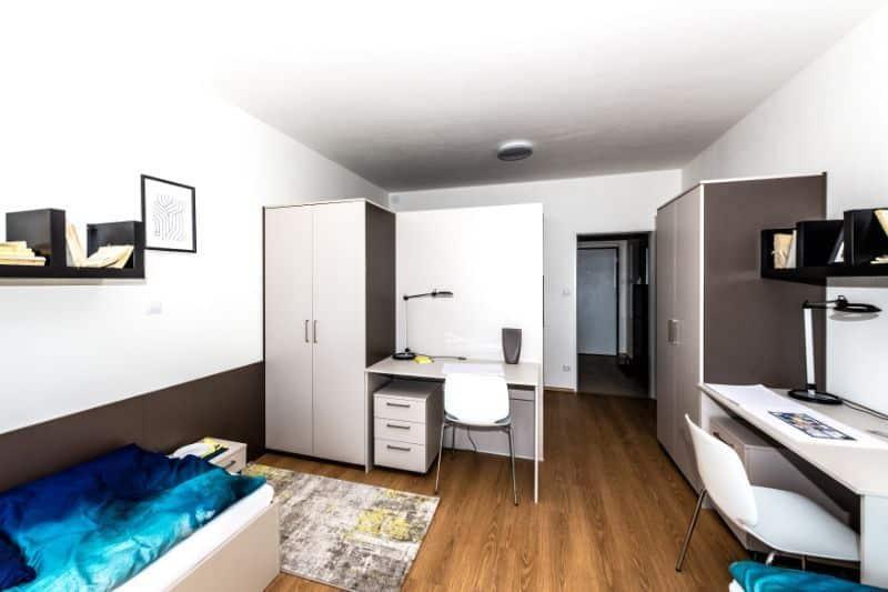 pilsen (plzen) erasmus student accommodation student room flat (5)